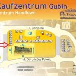 mapka zaznaczony pawilon 1